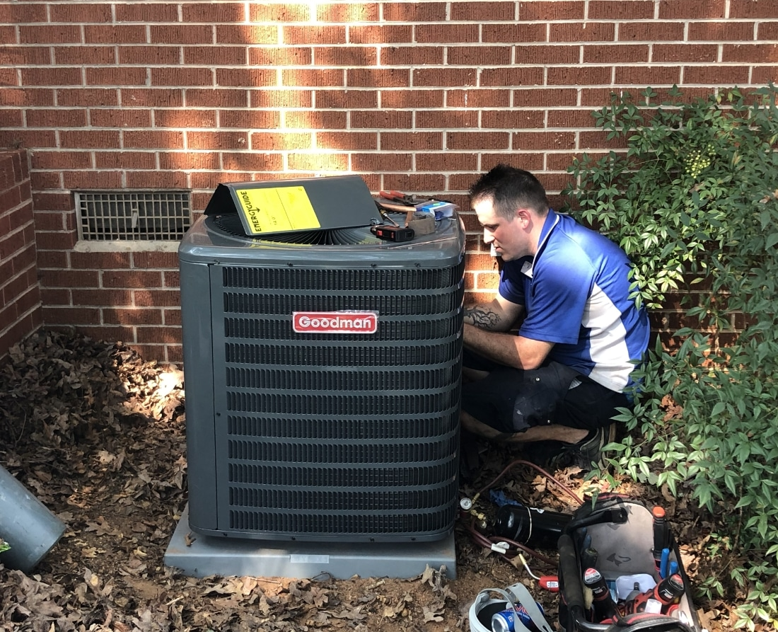 Hvac Being Repaired 1